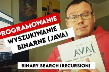 Wyszukiwanie Binarne w Javie Binary Search